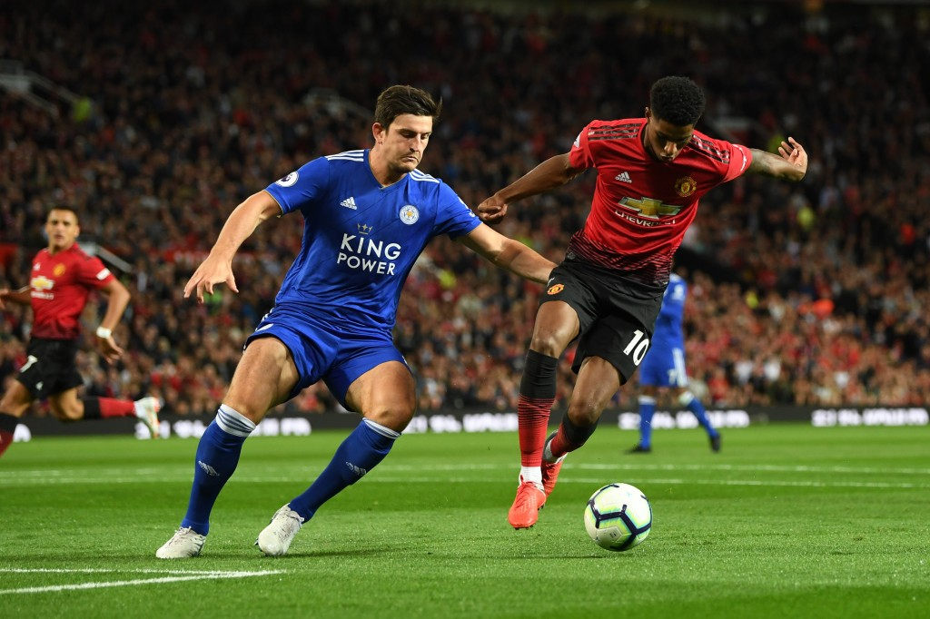 Will Maguire join Manchester United in the summer? (Photo by Michael Regan/Getty Images)