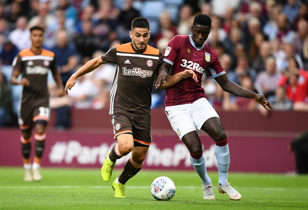 Axel Tuanzebe is wanted by Aston Villa this summer. (Photo by Clive Mason/Getty Images)