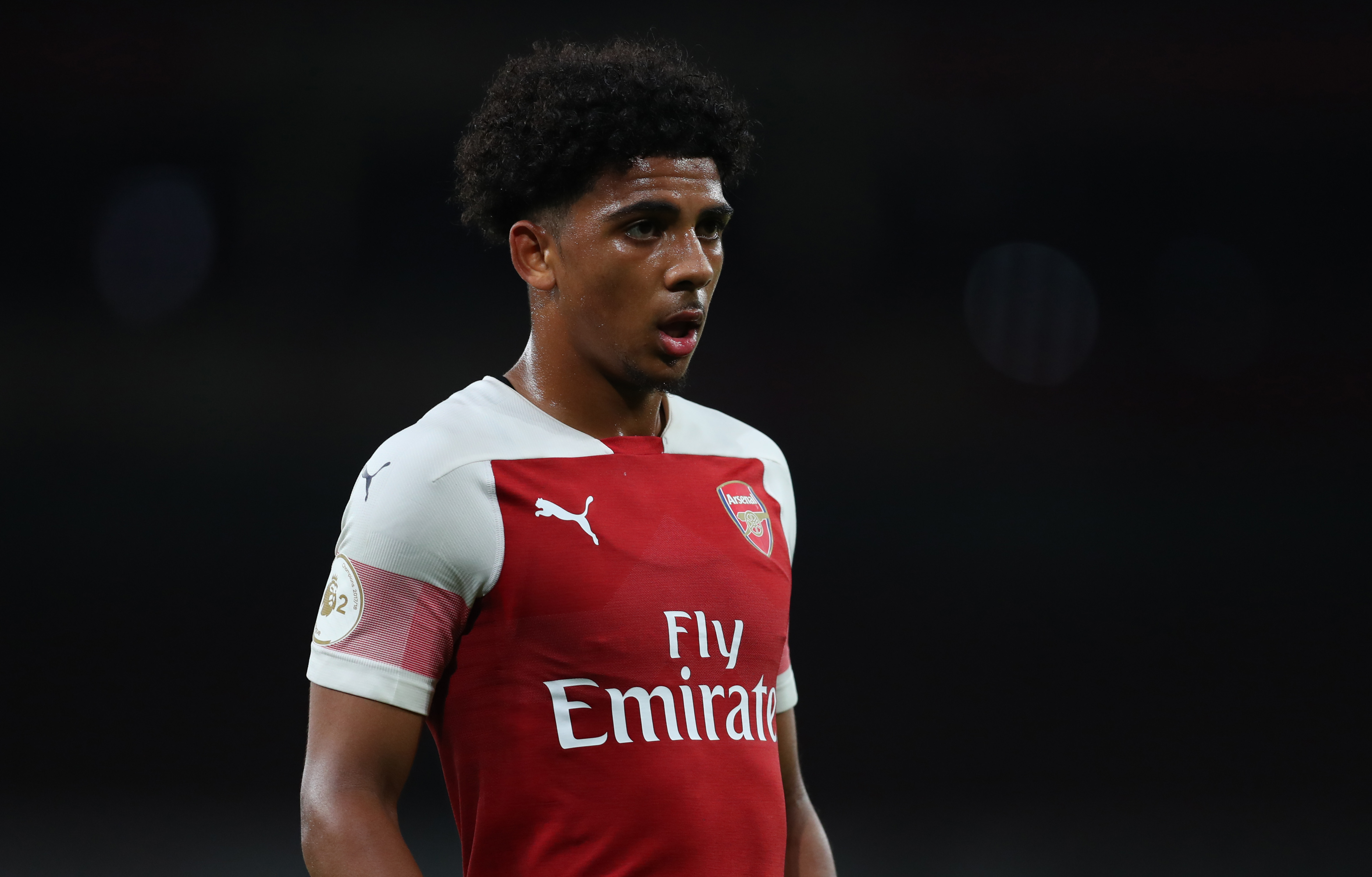 Xavier Amaechi has been impressing for Arsenal's U-22 side. (Photo courtesy: AFP/Getty)