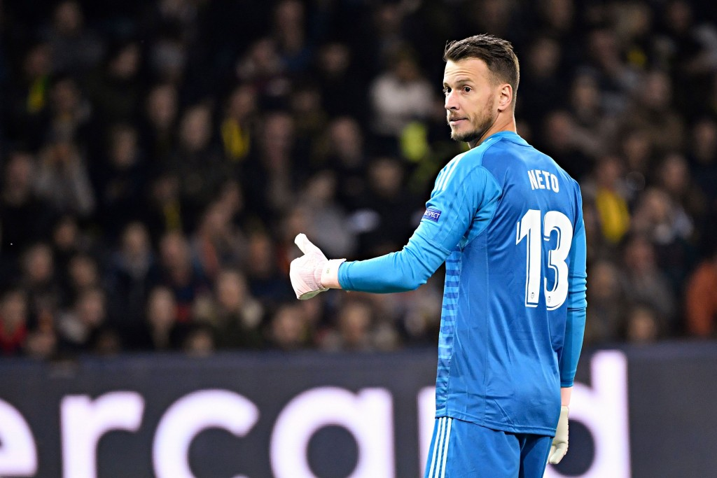 Neto to join Barcelona (Photo credit should read ALAIN GROSCLAUDE/AFP/Getty Images)