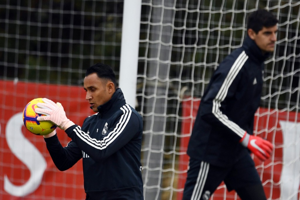Keylor Navas was shipped out as Thibaut Courtois became the undisputed first-choice goalkeeper for Real Madrid. (Photo by Gabriel Bouys/AFP/Getty Images)