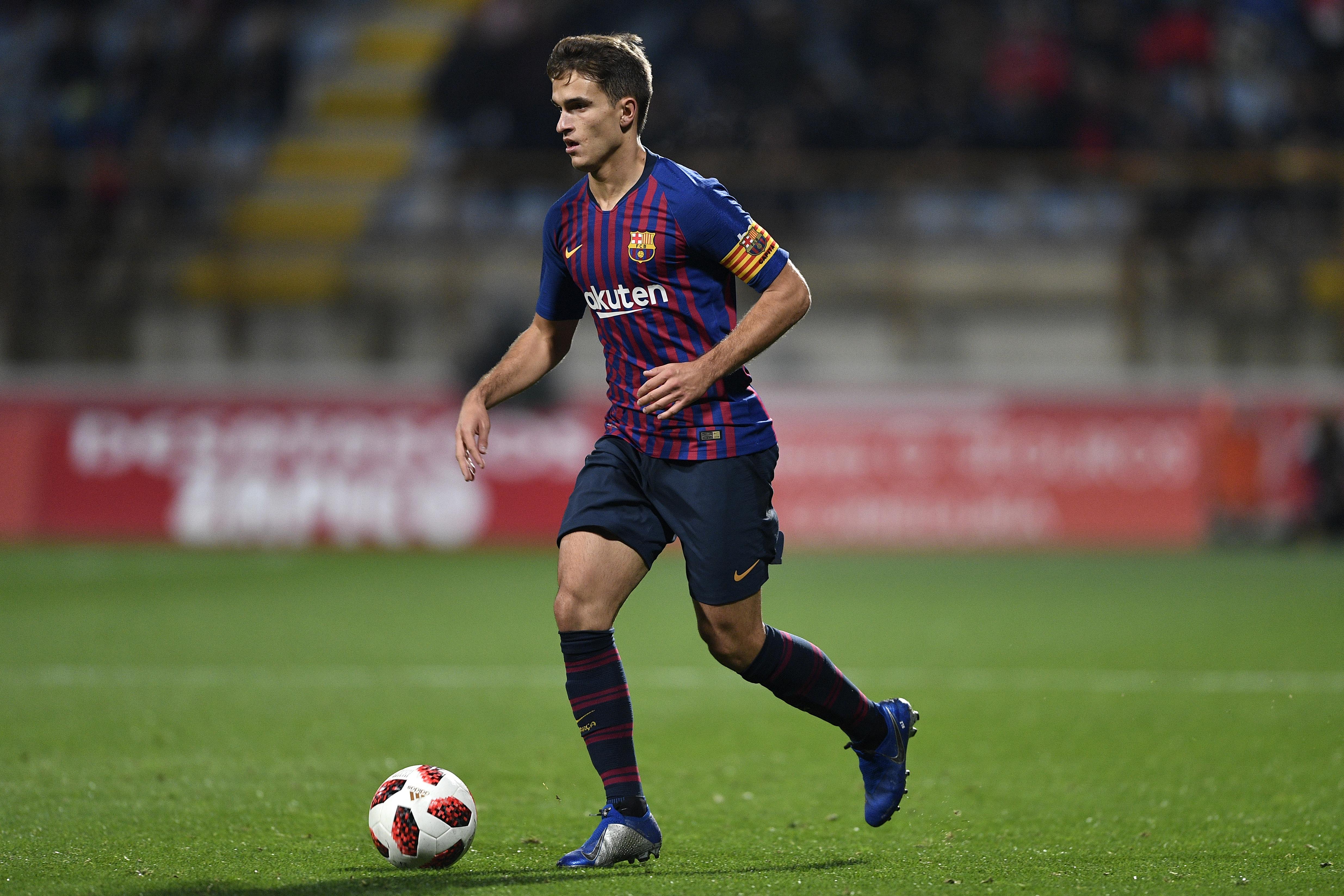 Barcelona have put Denis Suarez up for sale in the transfer window. (Photo courtesy: AFP/Getty)