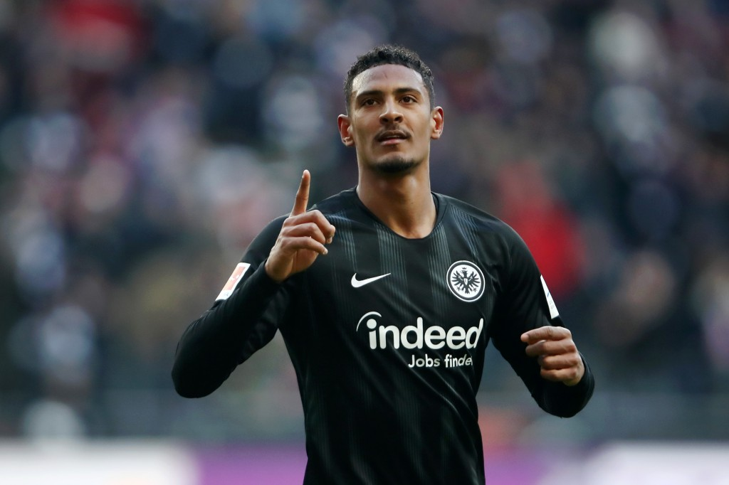 Will Sebastien Haller be the one to replace Romelu Lukaku at Manchester United? (Picture Courtesy - AFP/Getty Images)