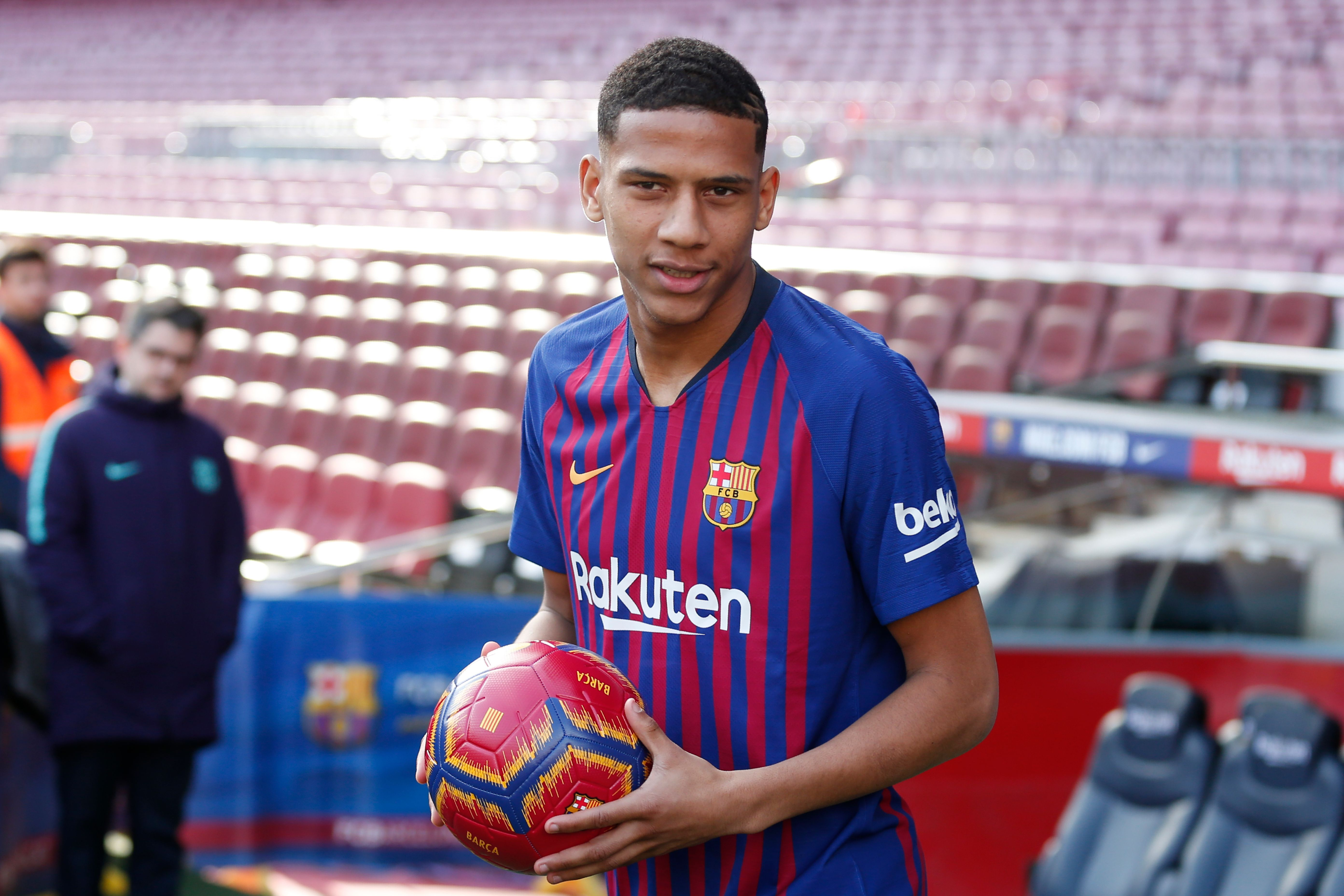 Todibo is courting interest from several clubs (Photo by PAU BARRENA/AFP/Getty Images)