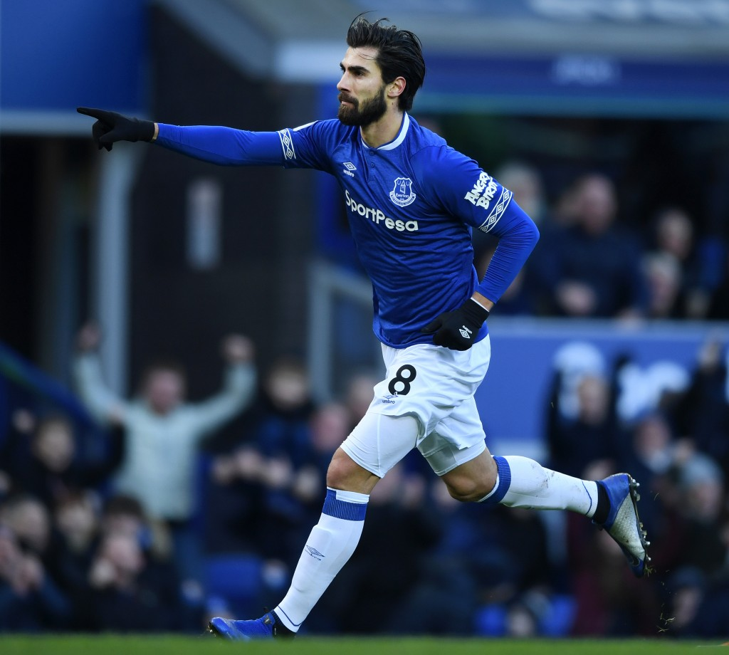 Set to continue in the blue of Everton. (Photo by Gareth Copley/Getty Images)