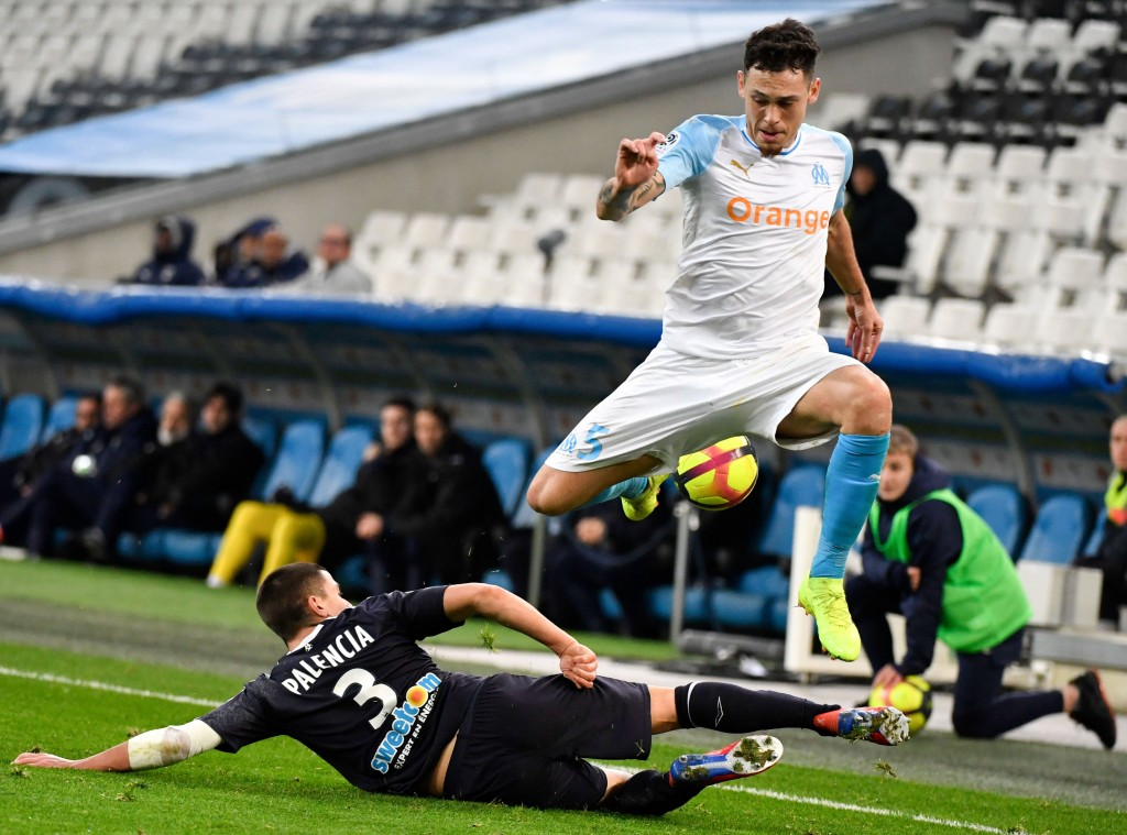 Sergi Palencia might not be too keen to return to play for Barcelona B after tasting first-team football at Bordeaux. (Picture Courtesy - AFP/Getty Images(