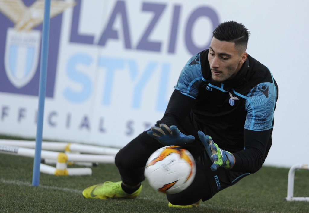 Lazio keeper Stakosha is linked with a move to the Premier League. (Photo by Marco Rosi/Getty Images)