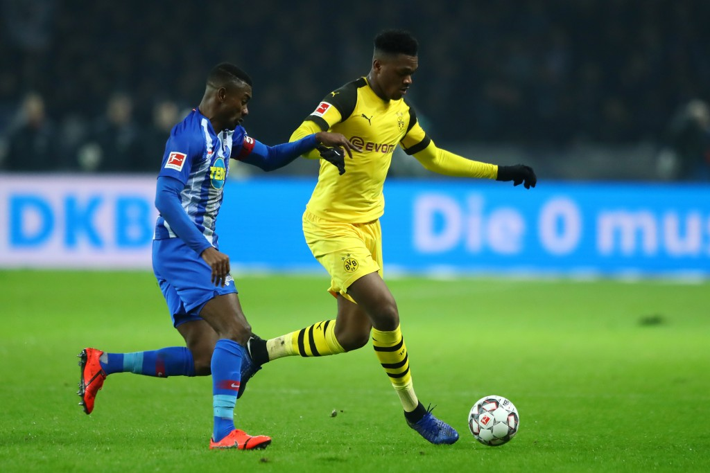 Zagadou is linked with a move to Arsenal. (Photo courtesy: AFP/Getty)