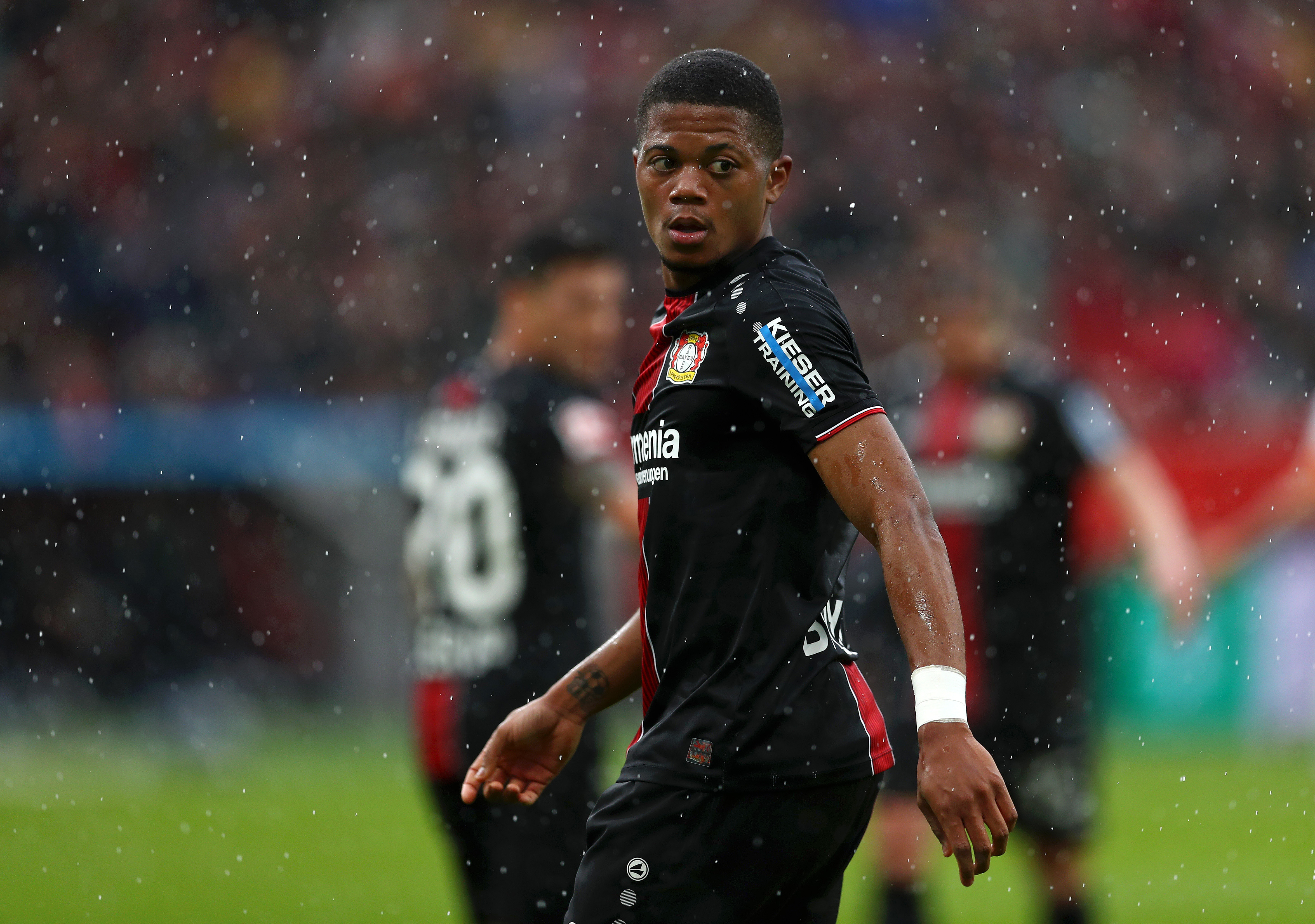 Leon Bailey is a man in demand (Photo by Lars Baron/Bongarts/Getty Images)