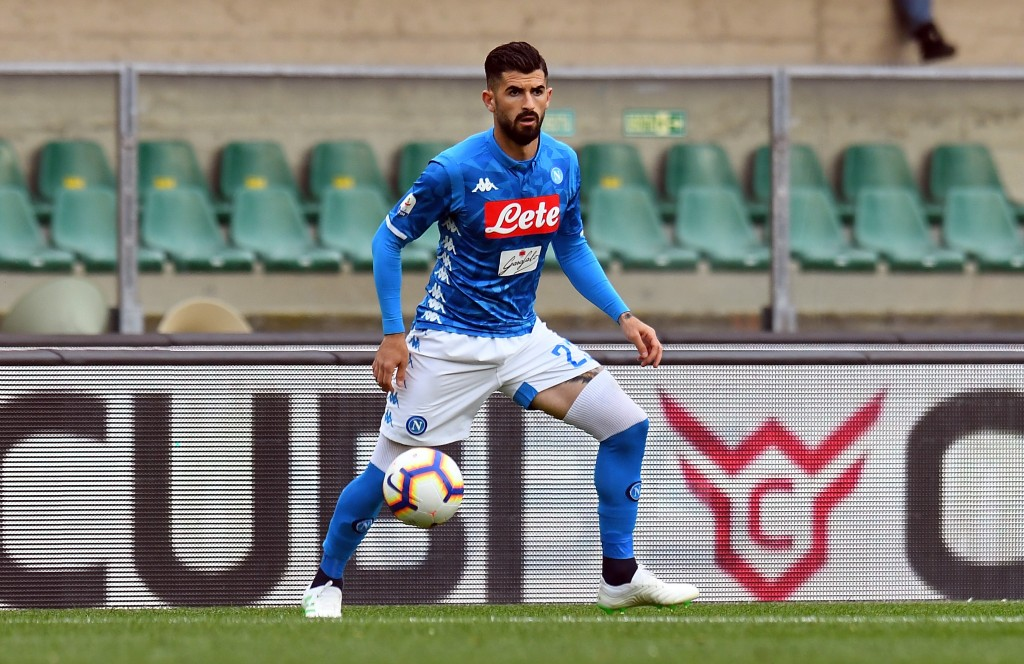 Elseid Hysaj is the latest name to be linked with Manchester United. (Picture Courtesy - AFP/Getty Images)