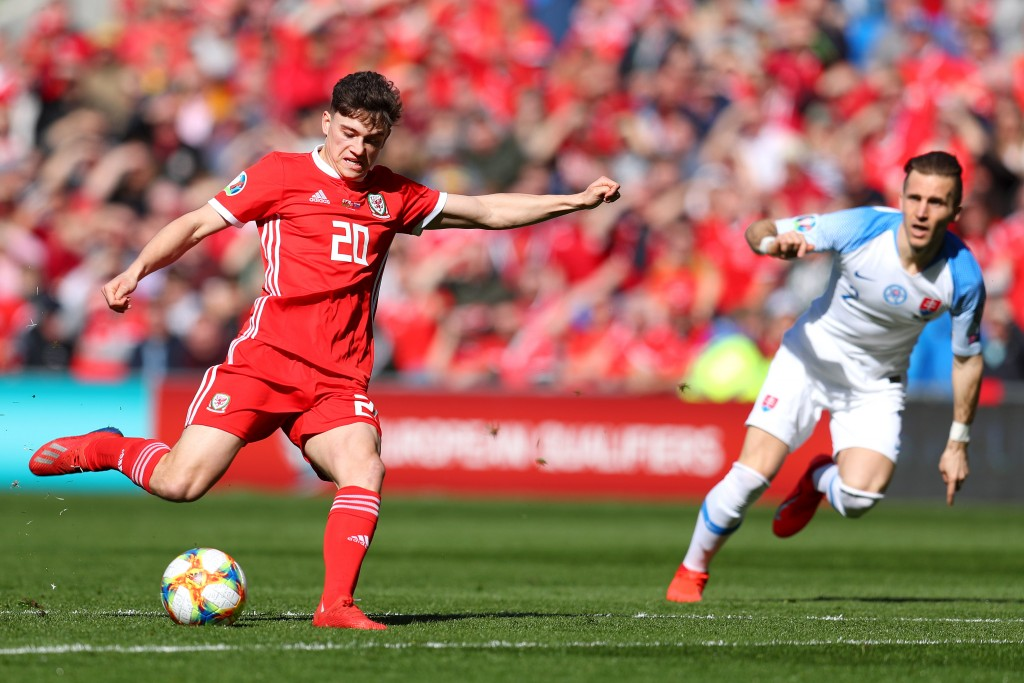 Daniel James is set to don red at club level as well, with a move to Manchester United close to being sealed. (Picture Courtesy - AFP/Getty Images)