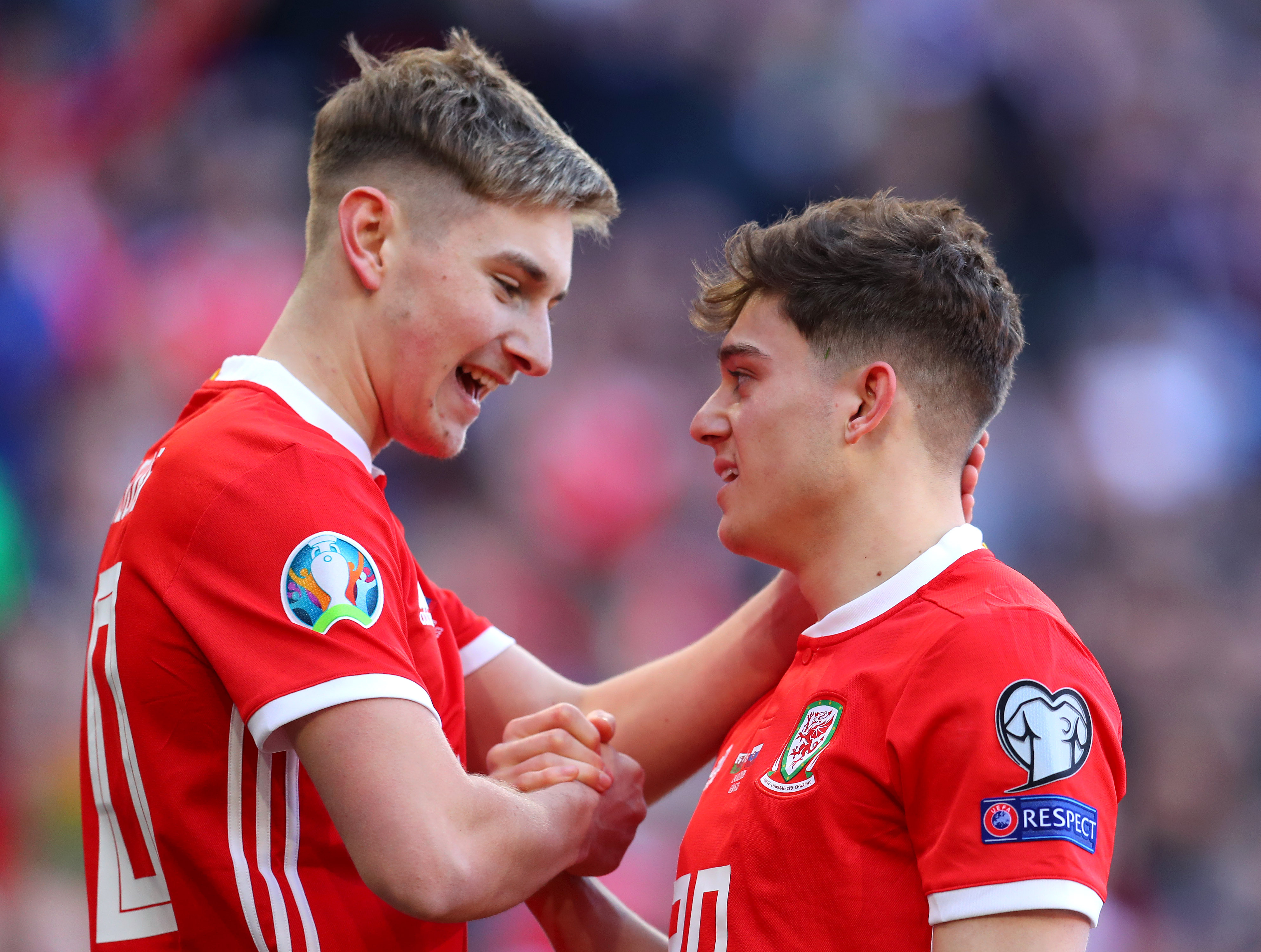 Will David Brooks join international teammate Daniel James at Manchester United? (Picture Courtesy - AFP/Getty Images)