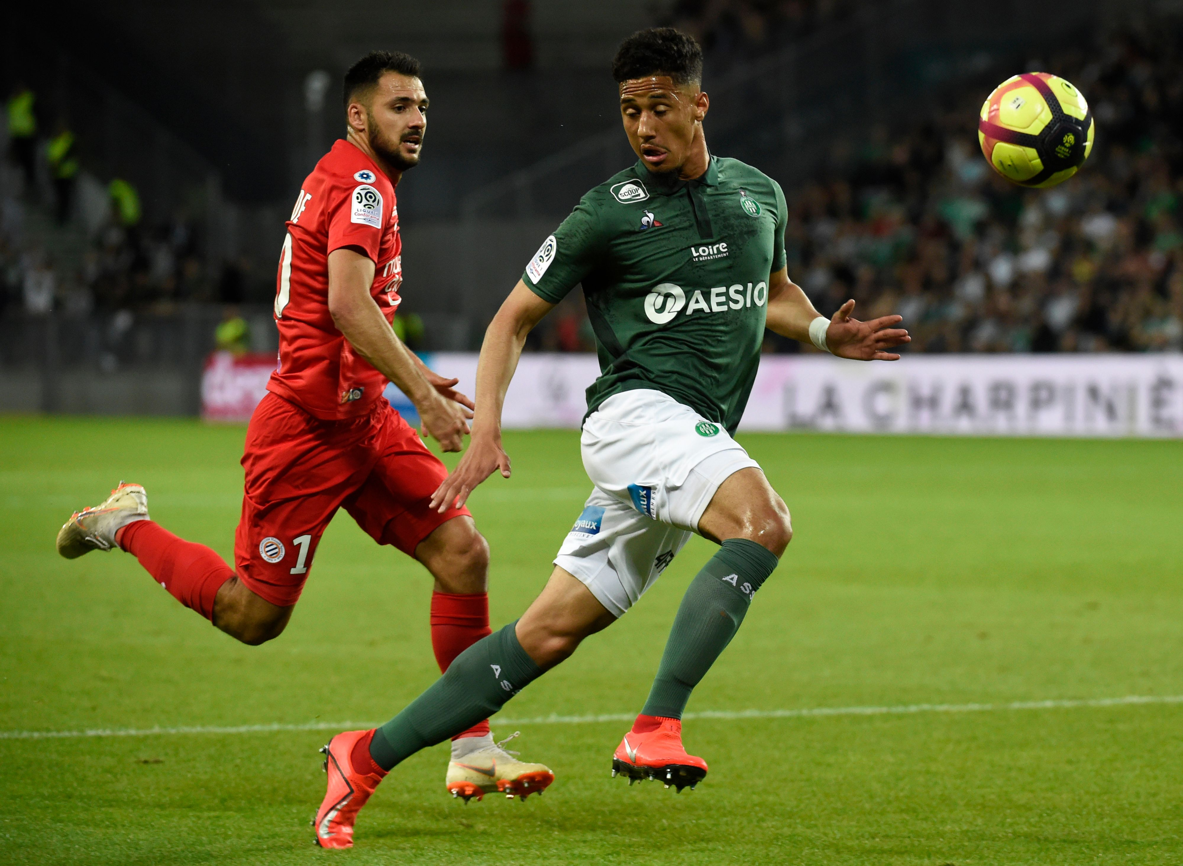 Manchester City or Arsenal? Where will Saliba end up? (Photo courtesy: AFP/Getty)