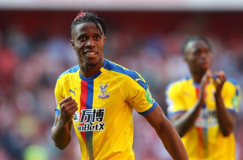 Zaha remains Arsenal's top-target. (Photo by Warren Little/Getty Images)