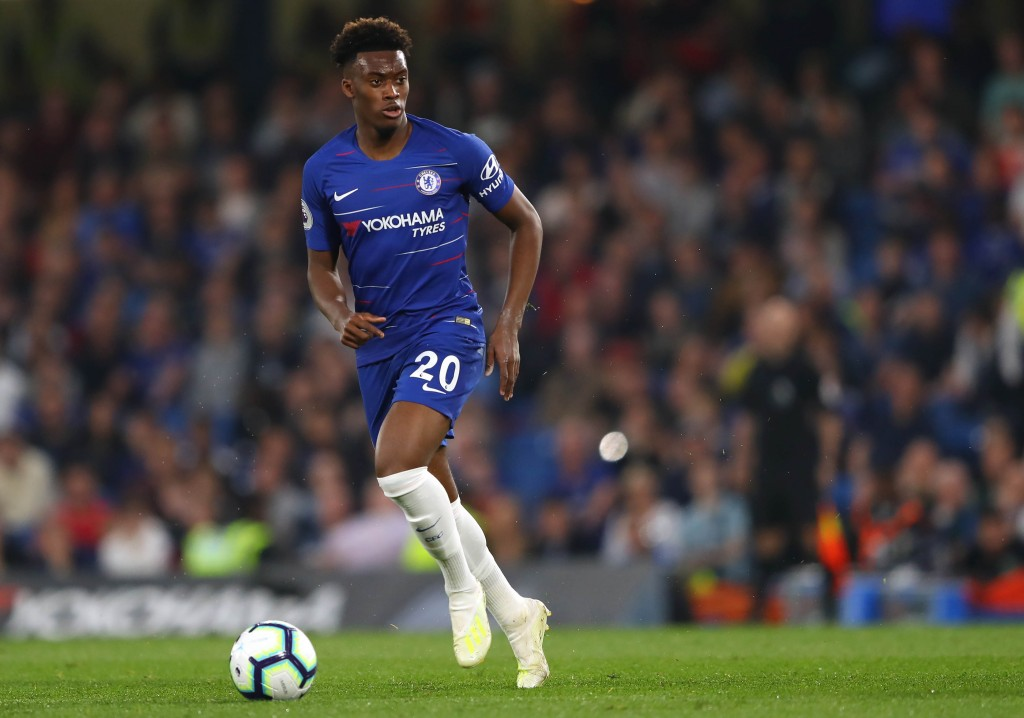 Callum Hudson-Odoi looks set to stay put at Chelsea. (Photo courtesy: AFP/Getty)