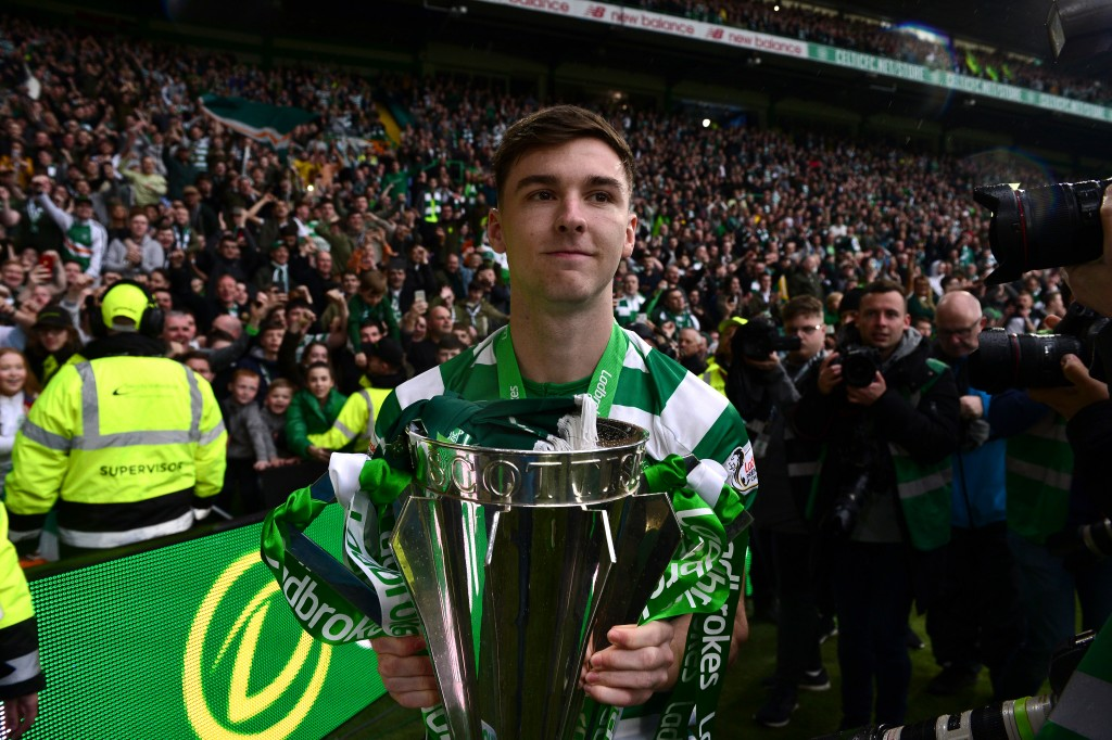 A 22-year-old with 11 trophies to his name, Kieran Tierney will add some much-needed winning mentality to the Arsenal squad. (Picture Courtesy - AFP/Getty Images)