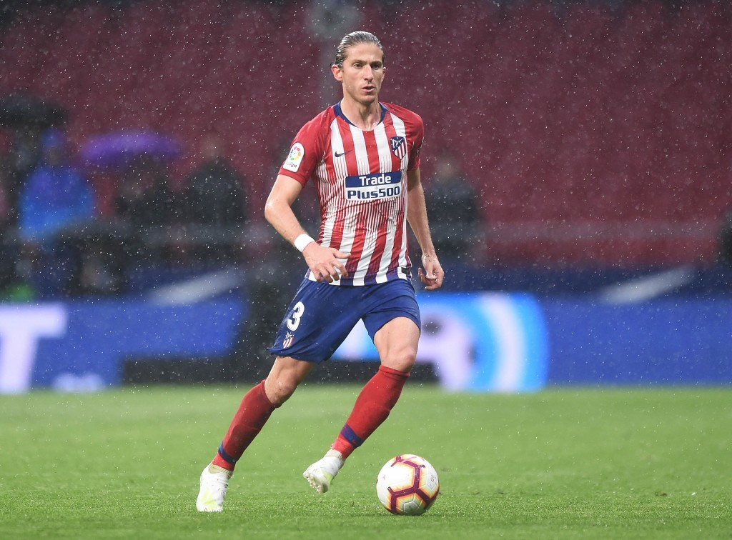 Filipe Luis might be set to depart Atletico Madrid but Barcelona are ready to pounce for the Brazilian. (Picture Courtesy - AFP/Getty Images)