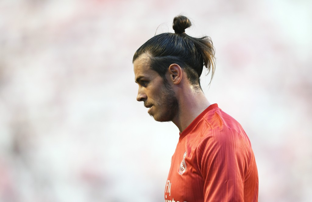 The red of Manchester United is not one that Bale might be donning next season. (Photo by Denis Doyle/Getty Images)