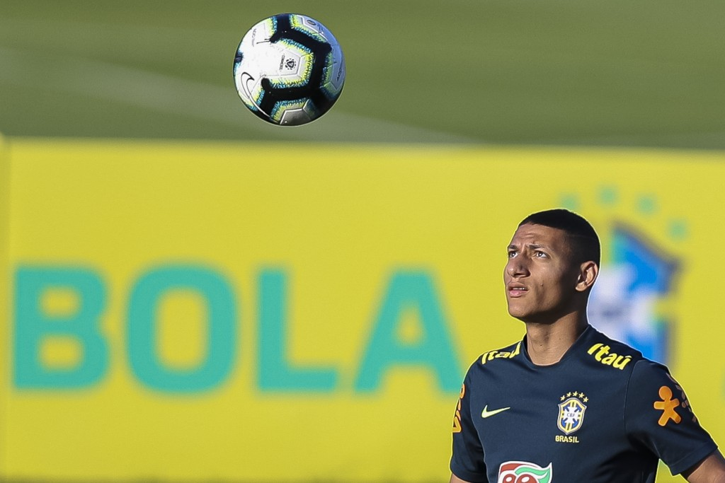 Starting to become a key man for Brazil. (Photo by Buda Mendes/Getty Images)