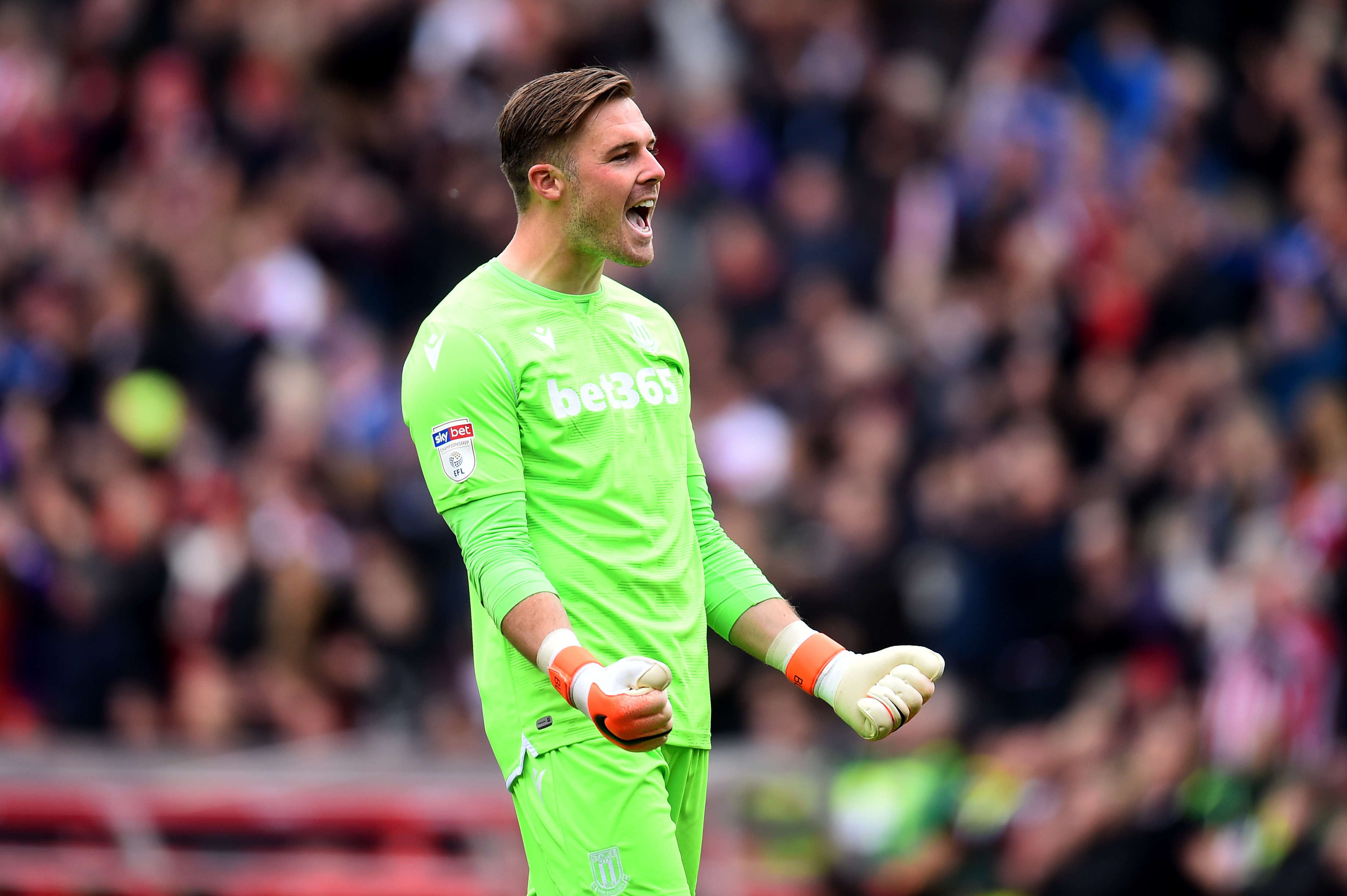 Jack Butland back in the Premier League? (Photo courtesy: AFP/Getty)