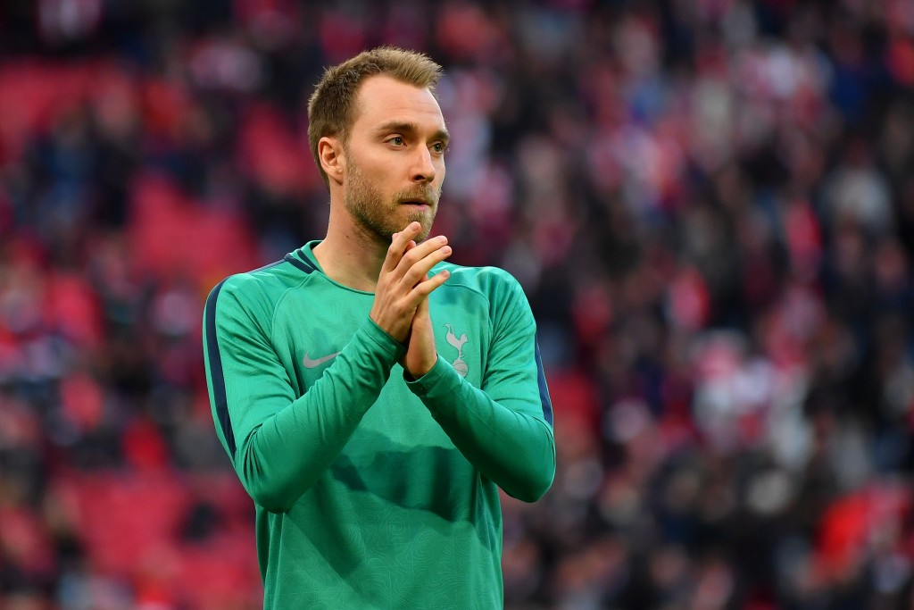 Eriksen has no interest in joining Manchester United. (Photo by Dan Mullan/Getty Images )