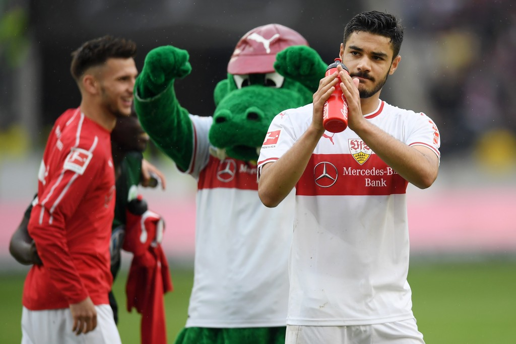 Ozan Kabak might leave Stuttgart after just six months, with interest from Premier League. (Picture Courtesy - AFP/Getty Images)