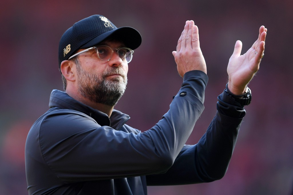 Jurgen Klopp would be reasonably happy with the business done by Liverpool. (Photo by Laurence Griffiths/Getty Images)