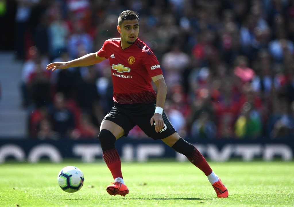 Andreas Pereira is set to be included in a deal for Harry Maguire. (Photo by Stu Forster/Getty Images)
