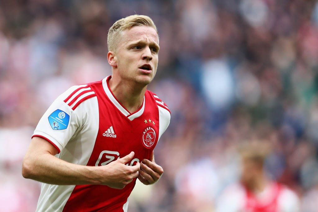What does the future hold for van de Beek? (Photo by Dean Mouhtaropoulos/Getty Images)