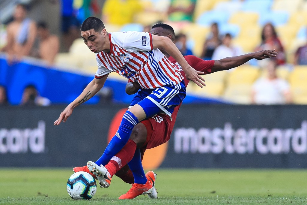 Almiron will be key for Paraguay. (Picture Courtesy - AFP/Getty Images)