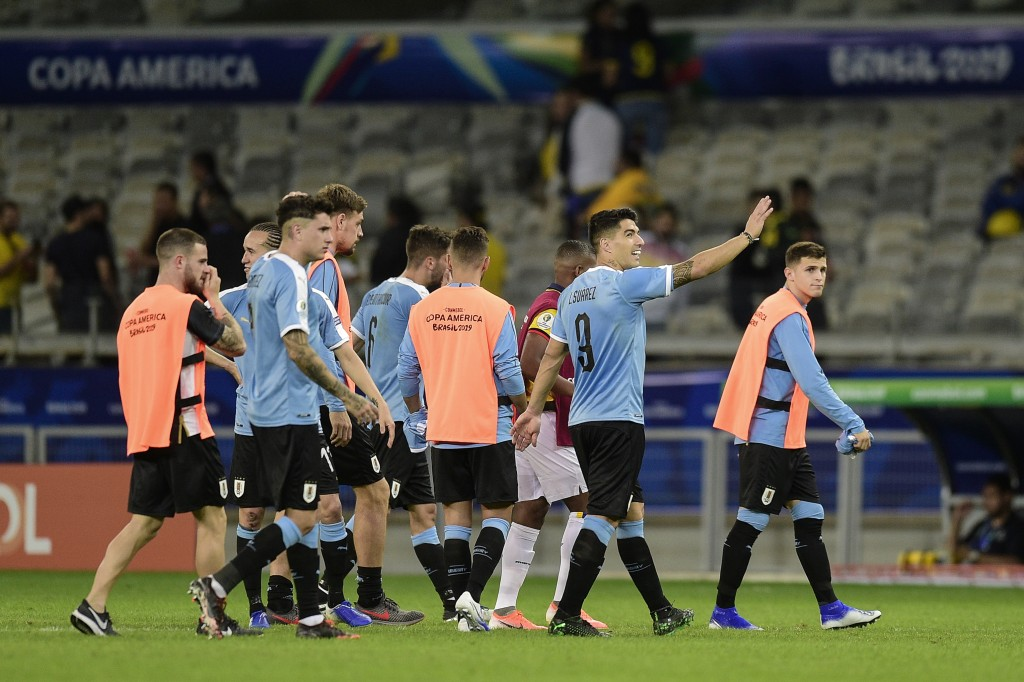 Uruguay will be aiming to build on their dominant win over Ecuador. (Photo by Juliana Flister/Getty Images)