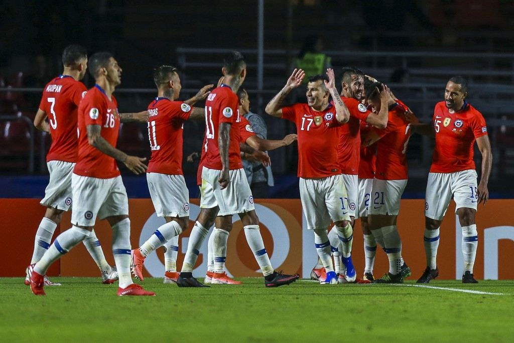 Chile made a winning start to their Copa America defence (Photo by Alessandra Cabral/Getty Images)