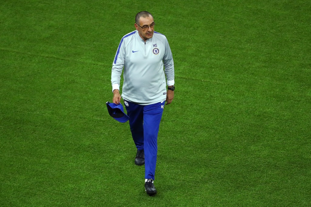 Maurizio Sarri is set for a return to Italy, this time to be the manager of Juventus. (Picture Courtesy - AFP/Getty Images)