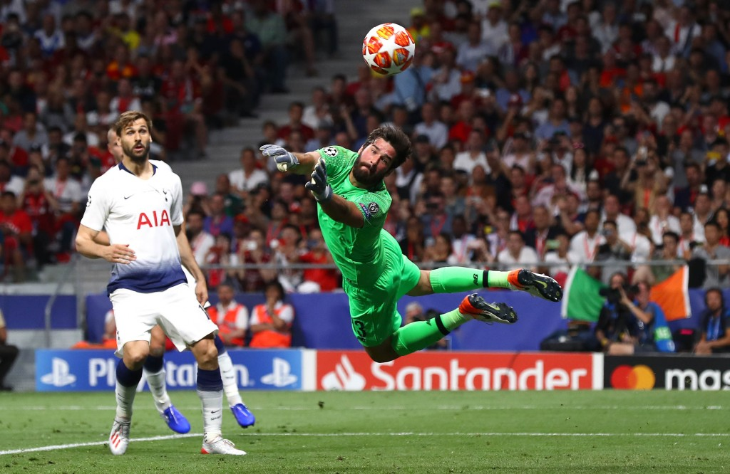 Alisson was absolutely brilliant when needed. (Photo by Clive Rose/Getty Images)