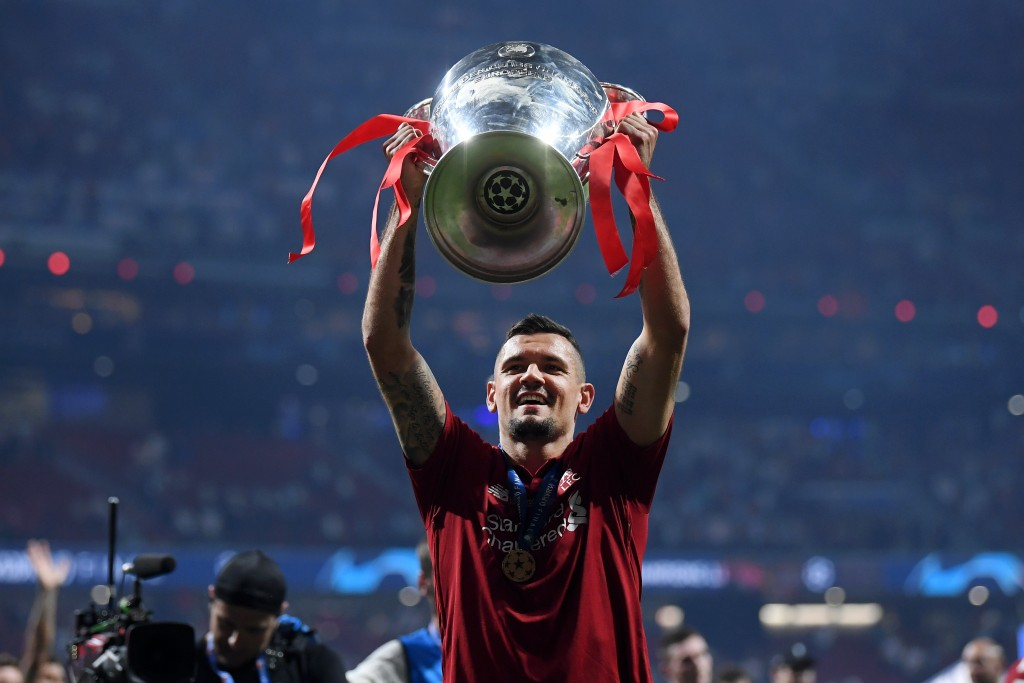 Lovren is linked with a move to AC Milan. (Photo by Laurence Griffiths/Getty Images)