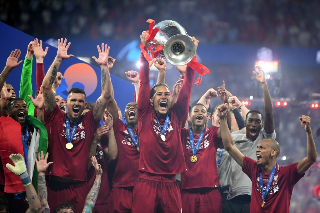 Van Dijk was undoubtedly the best defender of the 2018-19 season. (Picture Courtesy - AFP/Getty Images)