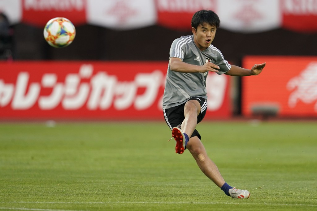 Japanese Messi - Takefusa Kubo (Photo by Toru Hanai/Getty Images)
