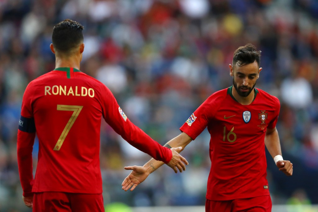Fernandes set to follow Ronaldo's path from Lisbon to Manchester? (Photo by Dean Mouhtaropoulos/Getty Images)