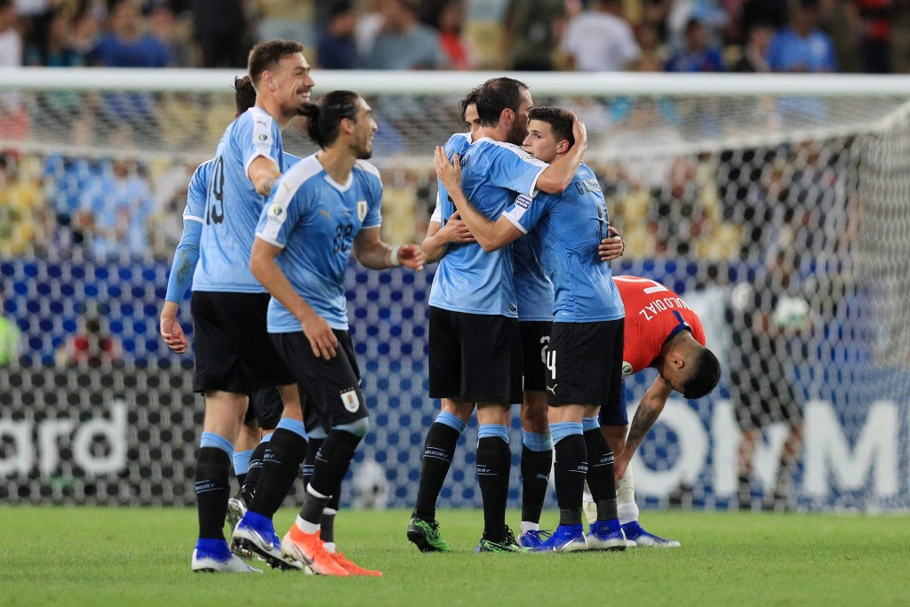 Can Uruguay continue their fine run? (Photo by Buda Mendes/Getty Images)