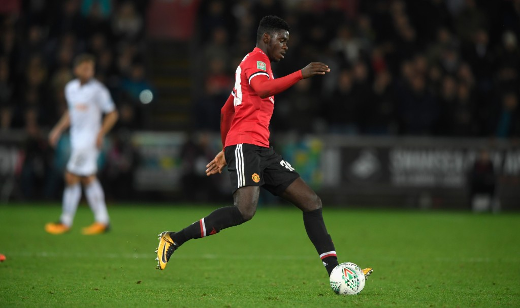 Tuanzebe has signed a new contract with Manchester United (Photo by Stu Forster/Getty Images)