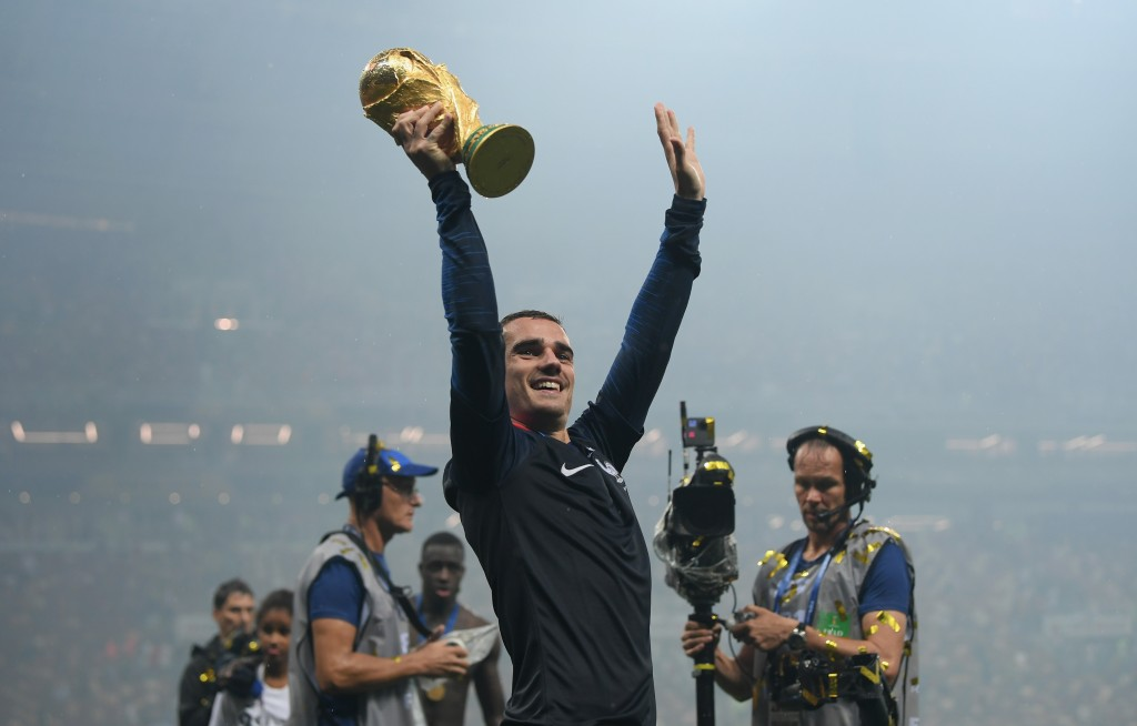 Antoine Griezmann could not convert his World Cup form at the club level in the 2018-19 campaign. (Picture Courtesy - AFP/Getty Images)