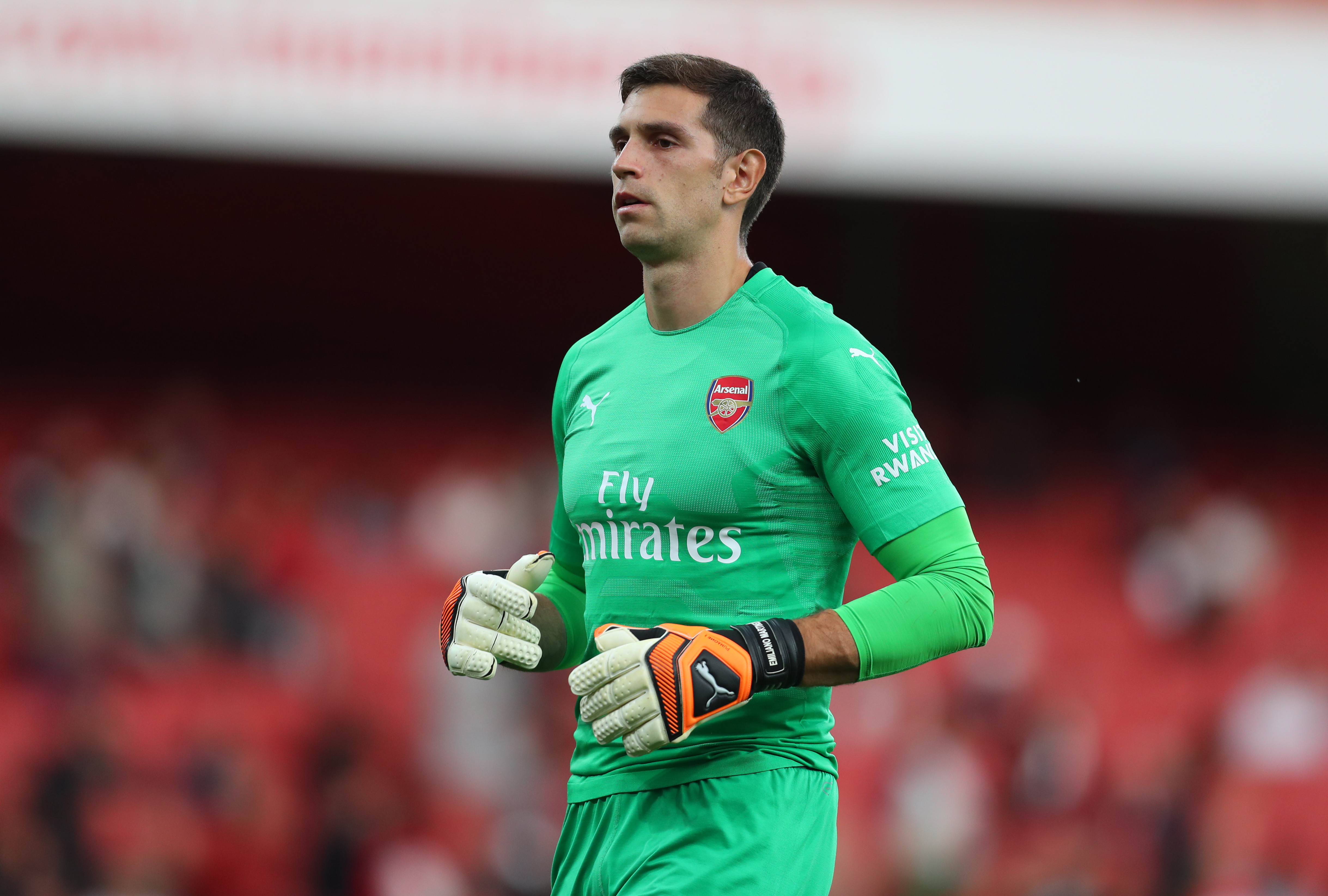 Should Emery promote Martinez to be Arsenal's second choice keeper next season? (Photo courtesy: AFP/Getty)