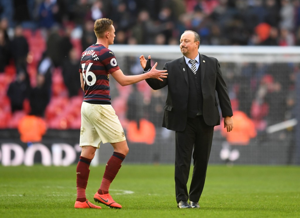 With Rafa gone, will Longstaff follow suit? (Picture Courtesy - AFP/Getty Images)