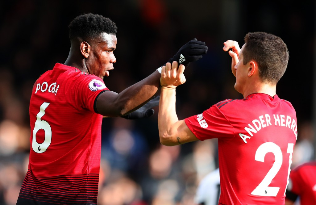 Pogba could follow Herrera out of Old Trafford (Photo by Catherine Ivill/Getty Images)