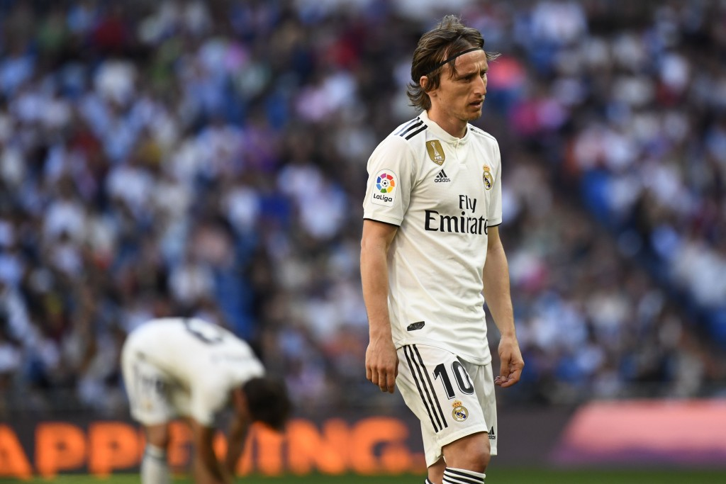 In the wake of a miserable 2018-19 season, will Modric leave Real Madrid? (Photo by Gabriel Bouys/AFP/Getty Images)