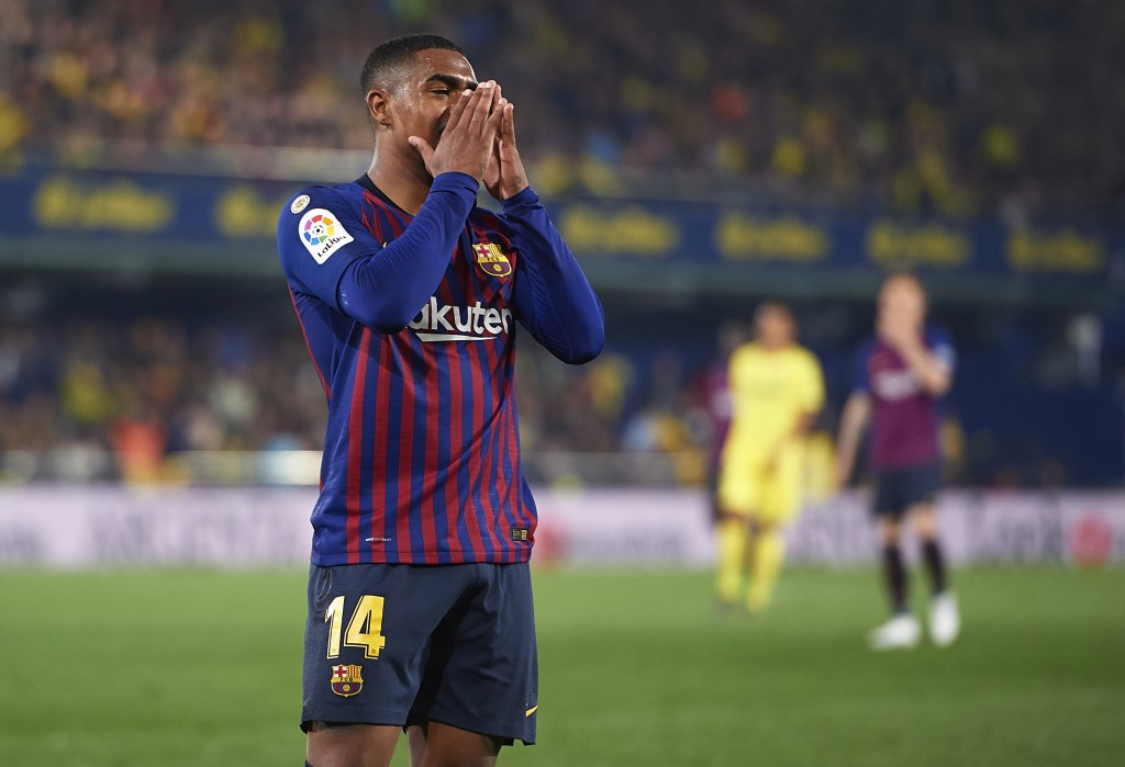Is it the end of the road for Malcom at Barcelona? (Photo by Manuel Queimadelos Alonso/Getty Images)