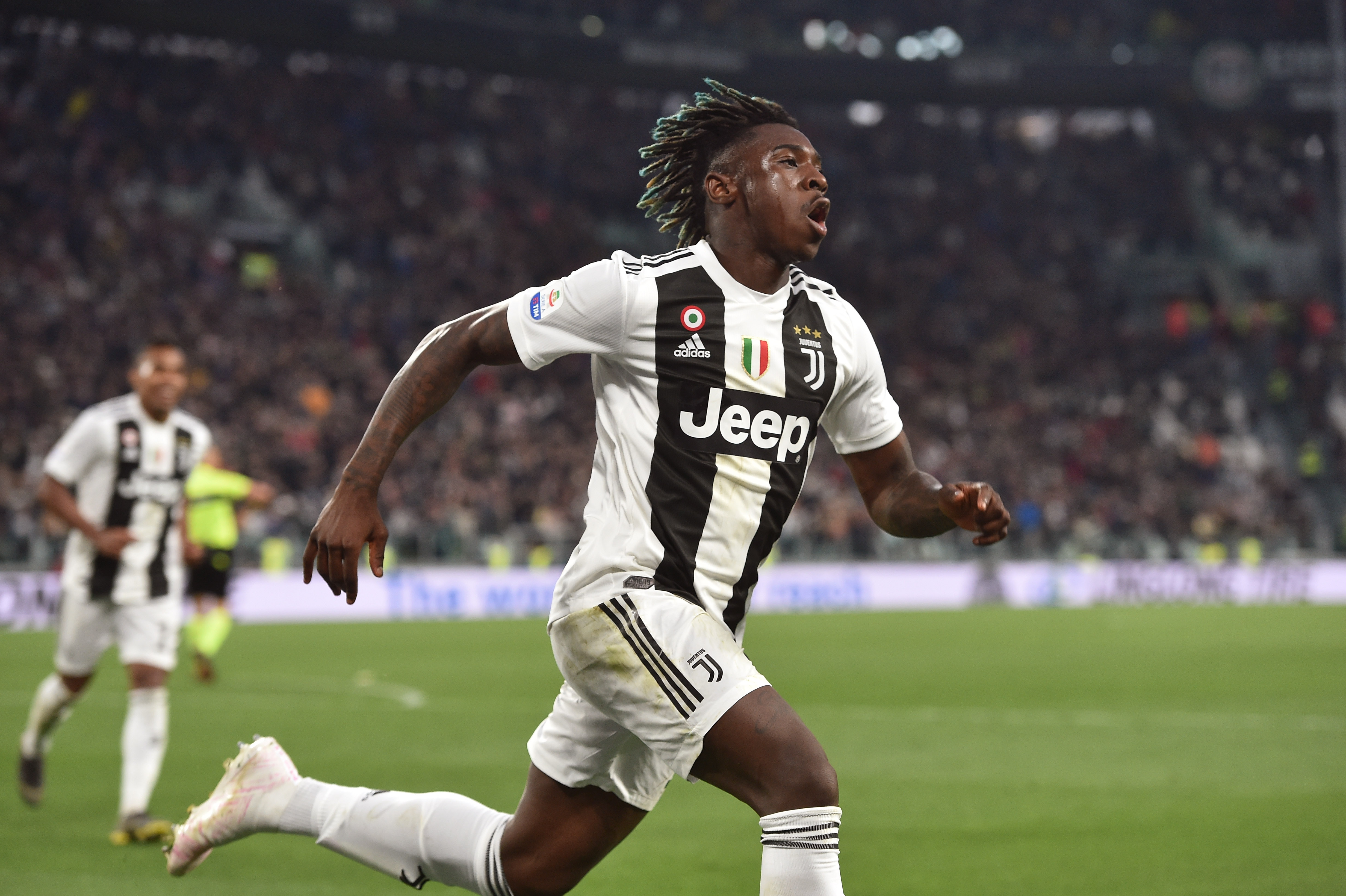 Moise Kean bound to the Premier League? (Photo courtesy: AFP/Getty)