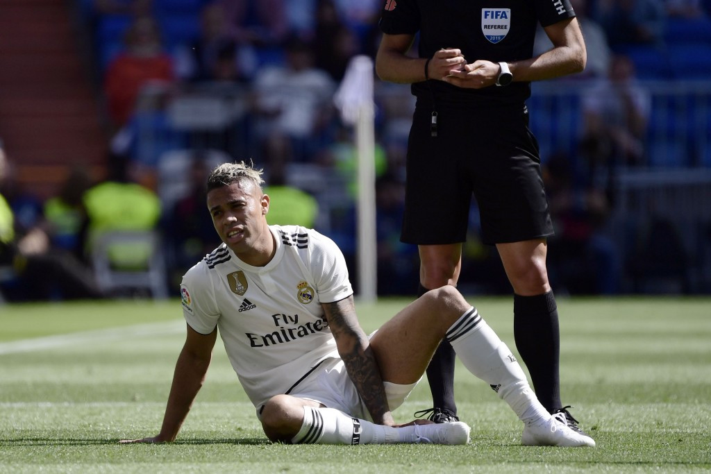Real Madrid have offered Mariano Diaz to Arsenal for £18 million. (Photo by Javier Soriano/AFP/Getty Images)