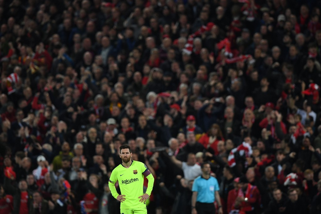 While Neymar left and Luis Suarez has declined over the recent years, the lone wolf stands resolute and better than ever. (Picture Courtesy - AFP/Getty Images)