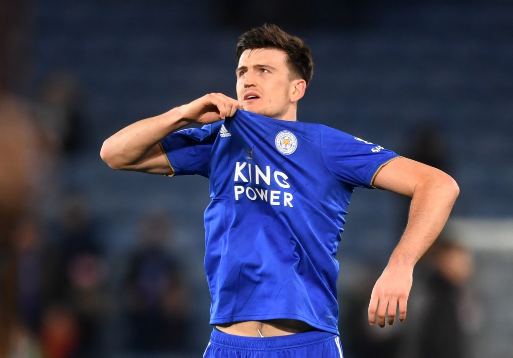 Set to take off the Leicester City kit for Manchester United's? (Photo by Michael Regan/Getty Images)